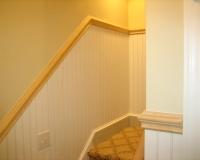 Beadboard at Stairs